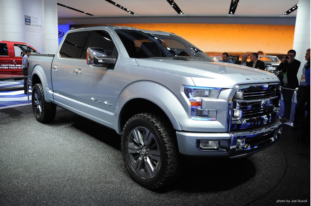 Future Trucks 2015 Ford atlas concept at theFuture Trucks 2015