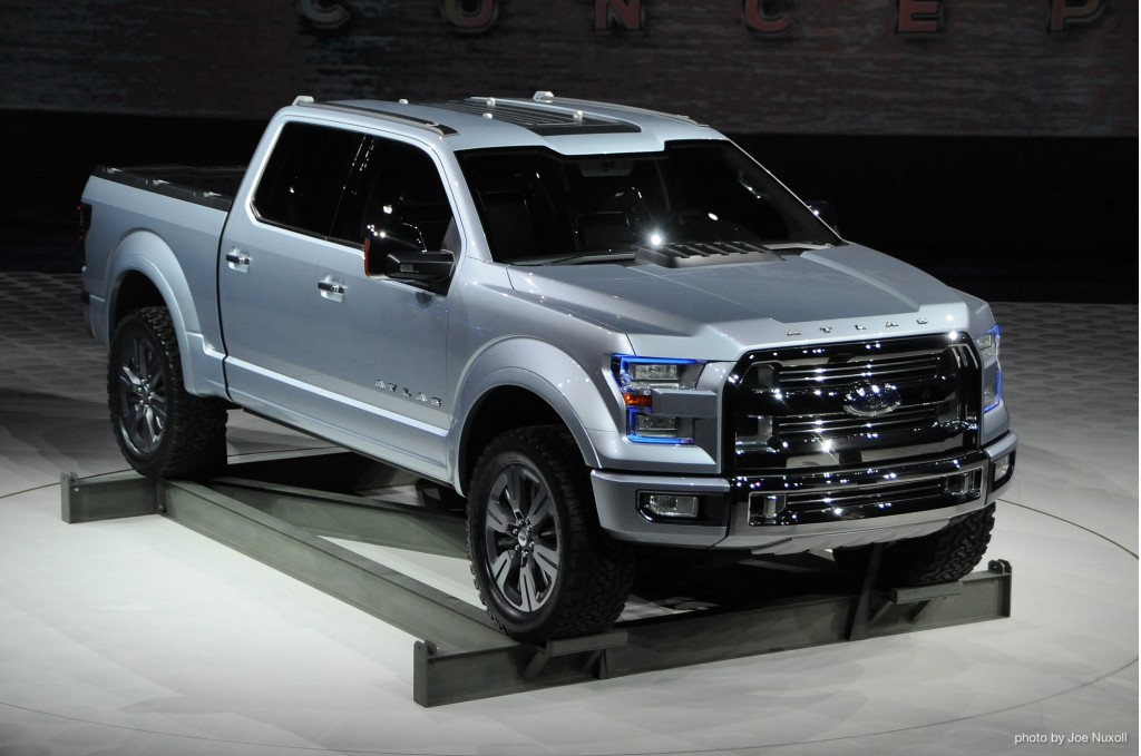 Ford F-150 Atlas Concept: A Transit Pickup Truck Stays In Step In ...