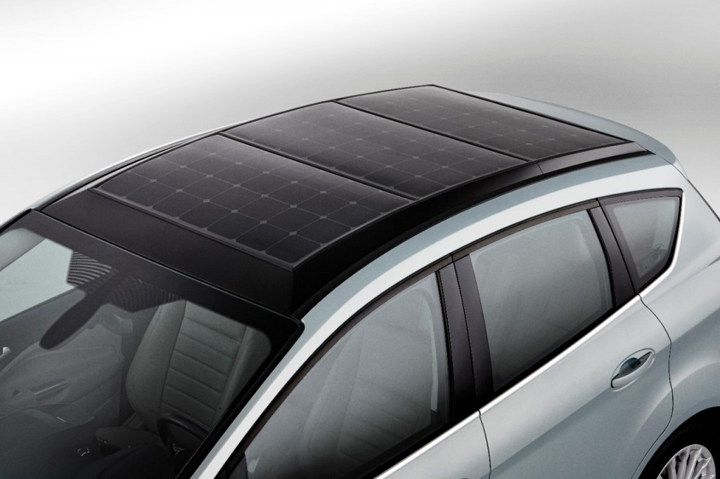 ford c max solar energi concept using the sun to charge electric car. Black Bedroom Furniture Sets. Home Design Ideas