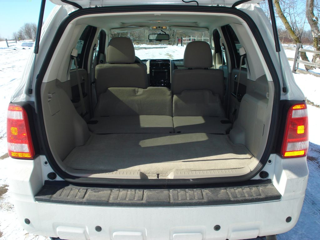 Ford Escape Hybrid Cargo Space