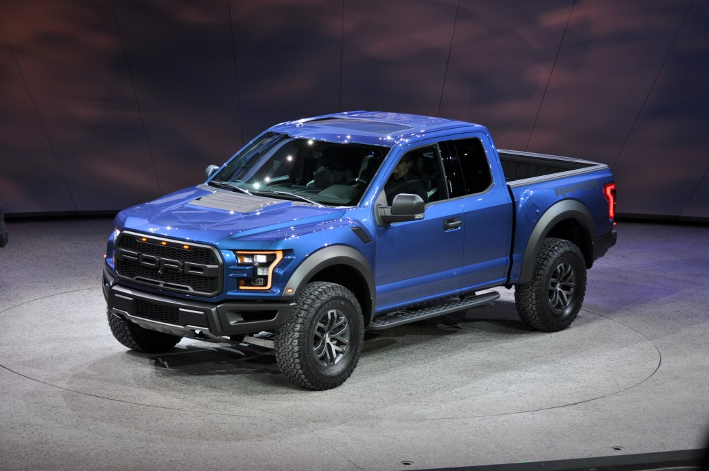 2017 Ford F-150 Raptor Revealed With EcoBoost V-6 And 10-Speed Auto