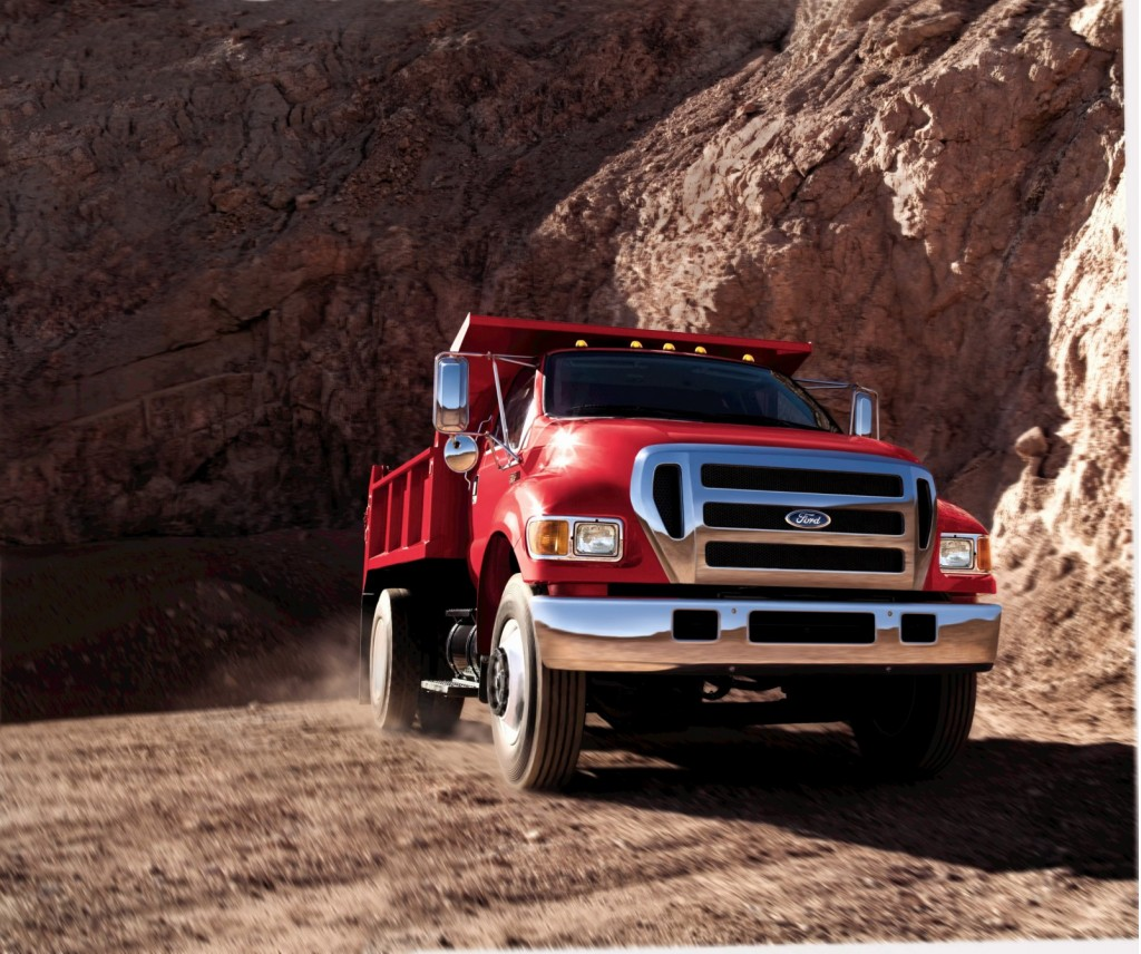 Ford F 750 Plug In Hybrid Work Truck Not Your Little Leaf