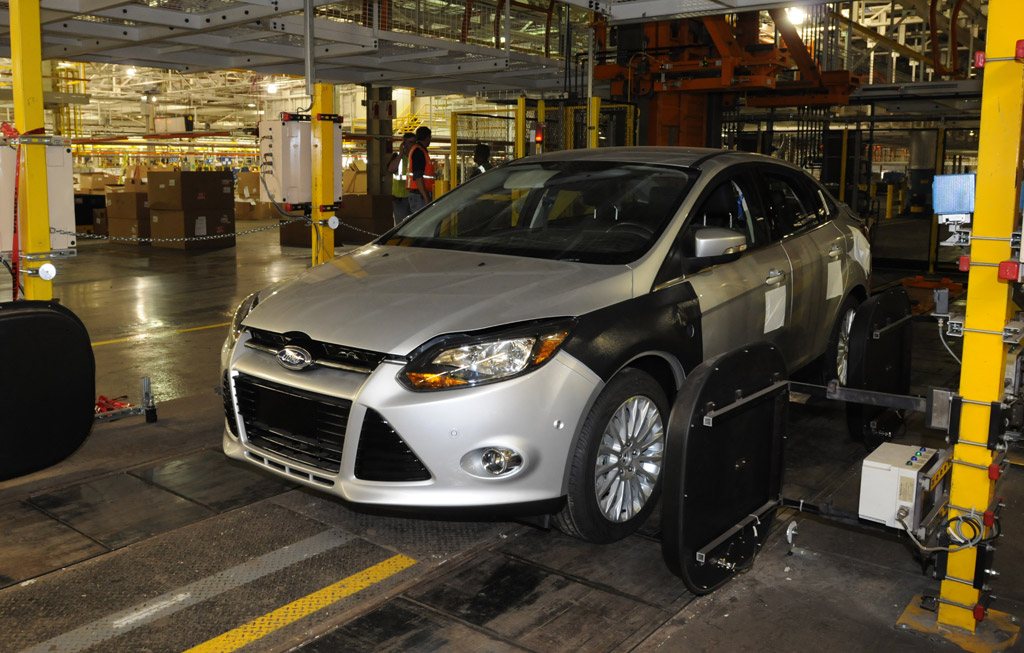 Ford Focus Assembly Plant Michigan