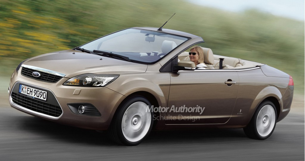 preview 2008 ford focus cabrio facelift. Black Bedroom Furniture Sets. Home Design Ideas
