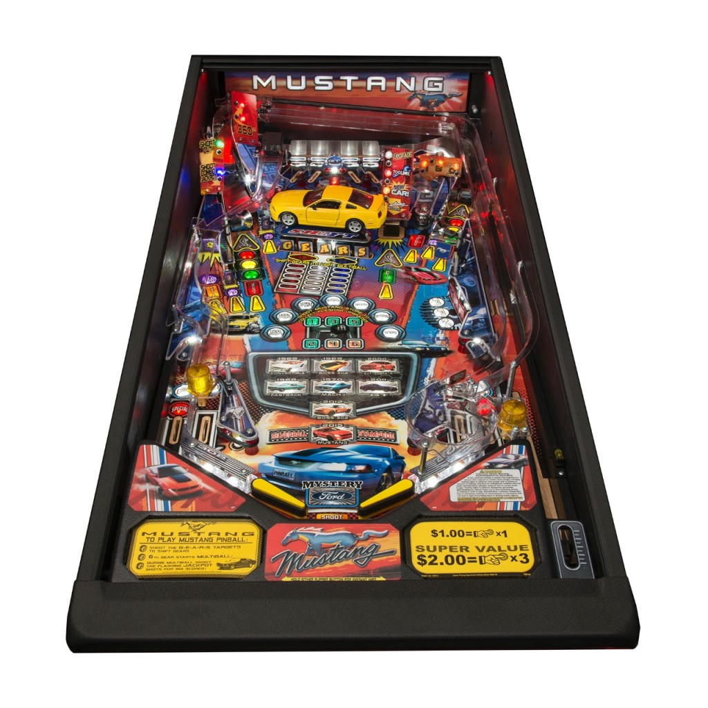 Get Your 2015 Ford Mustang Groove On...With A Pinball Game?