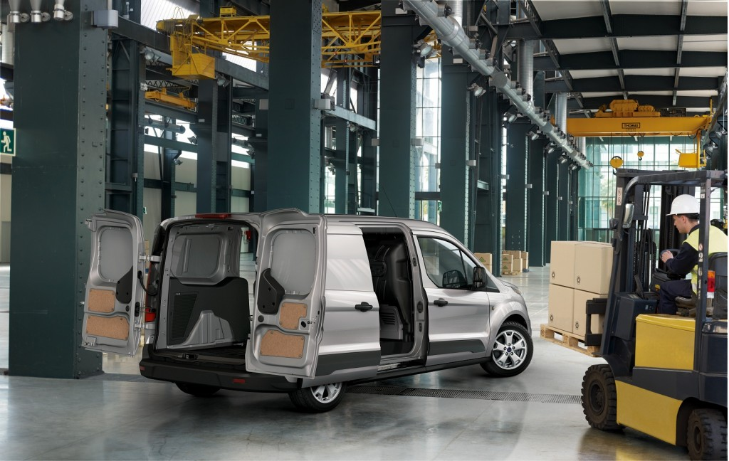 Image 2014 Ford Transit Connect Small Commercial Van