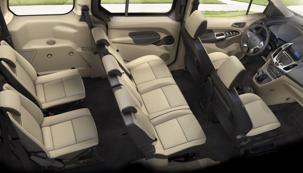 2014 ford transit connect wagon unveiled 7 seats 30 mpg. Black Bedroom Furniture Sets. Home Design Ideas