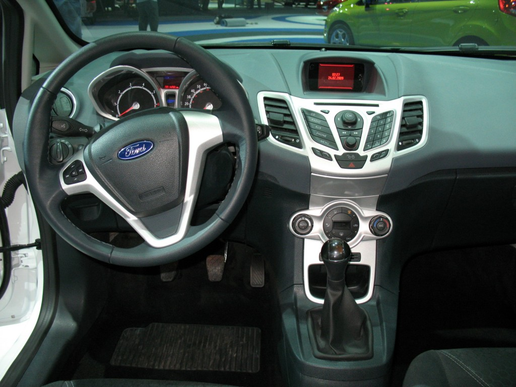 Image 2011 Ford Fiesta Interior Size 1024 X 768 Type