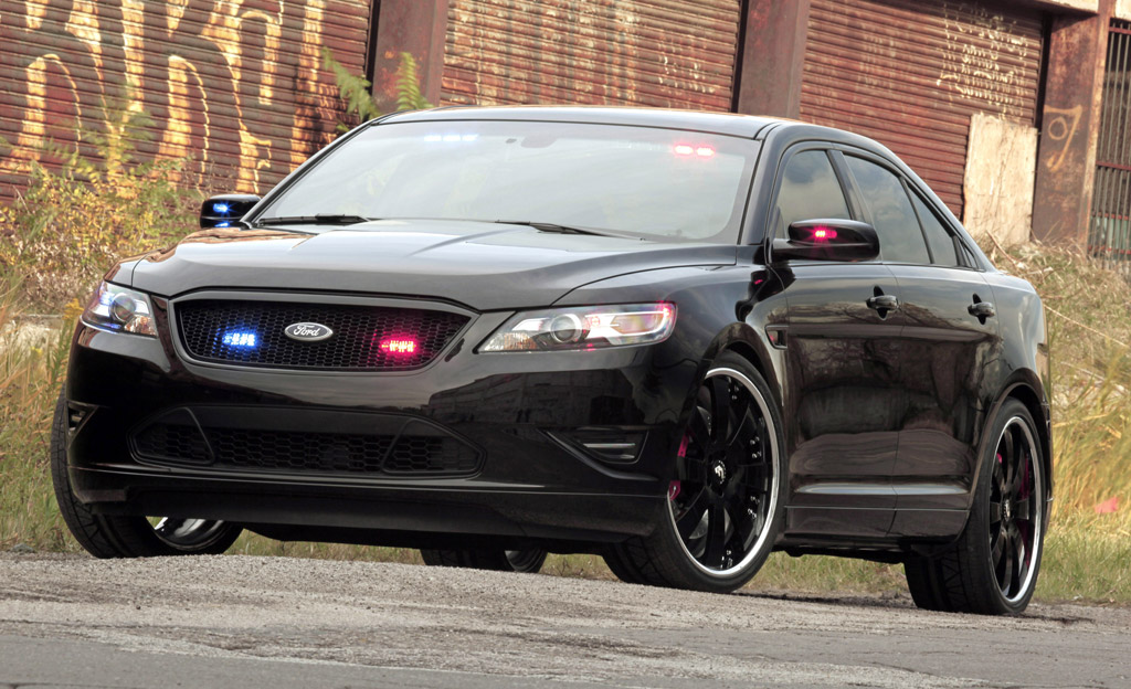 2011 Stealth Ford Taurus Police Interceptor Concept Archive 7th