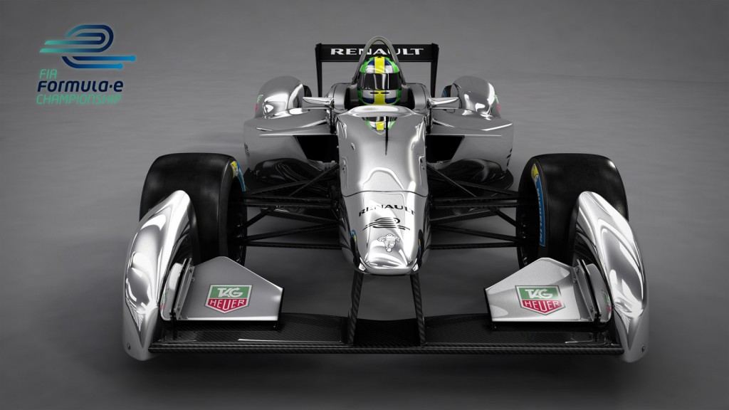 First Formula E Electric Racer To Debut At Frankfurt Auto Show