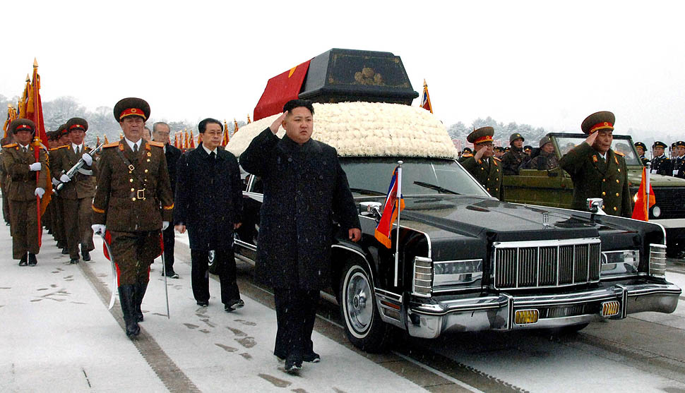 Kim Jong Il Takes One Last Drive In A Lincoln Continental