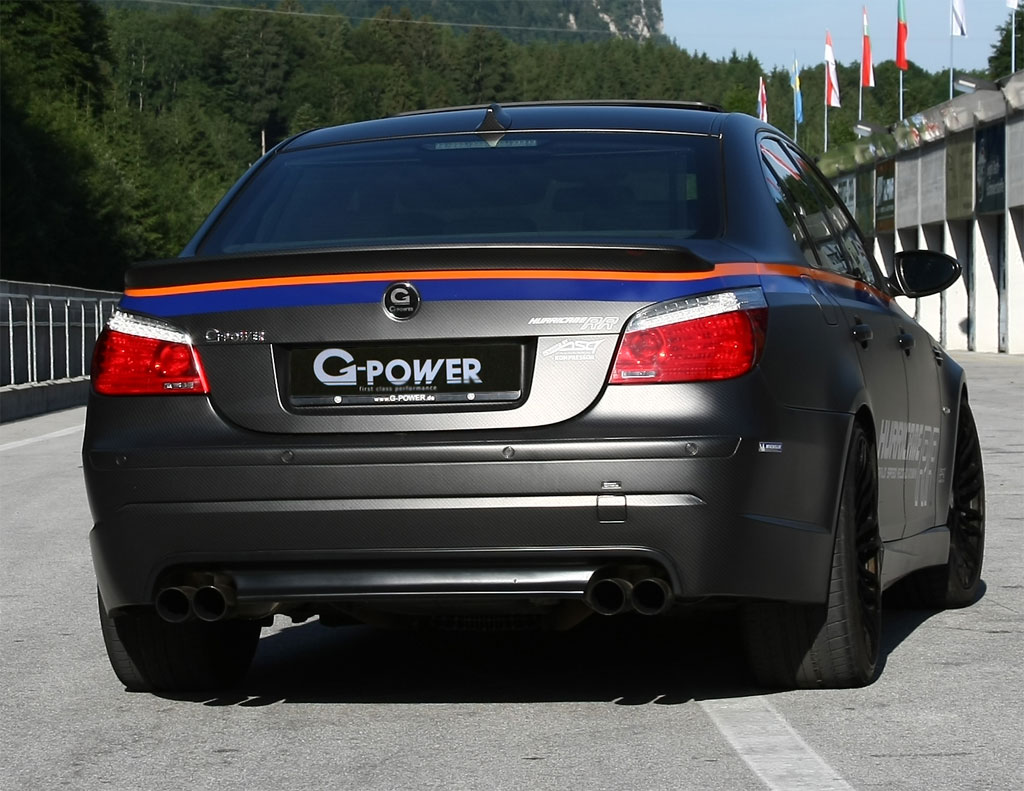 at 231 mph g power bmw m5 hurricane rr is world s fastest four door. Black Bedroom Furniture Sets. Home Design Ideas
