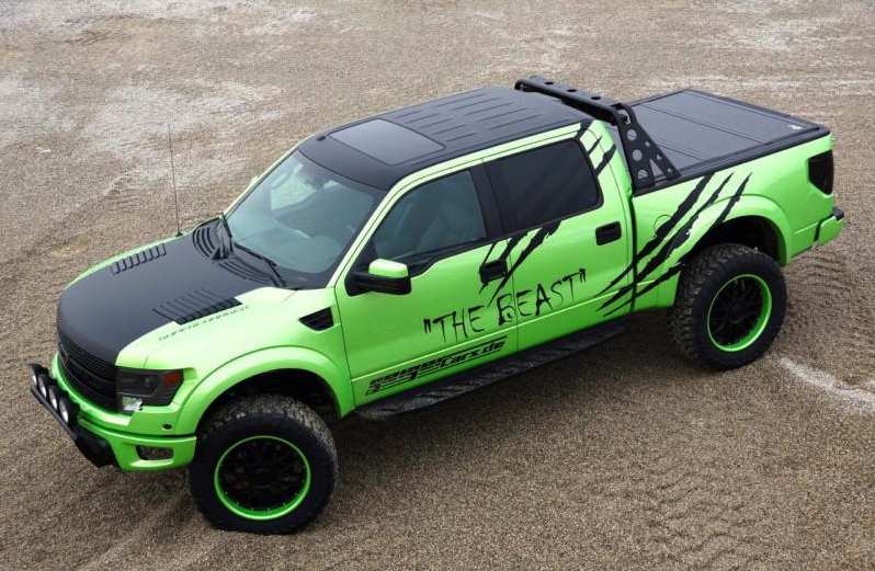 Geiger Cars Makes The Ford F 150 Svt Raptor Even More
