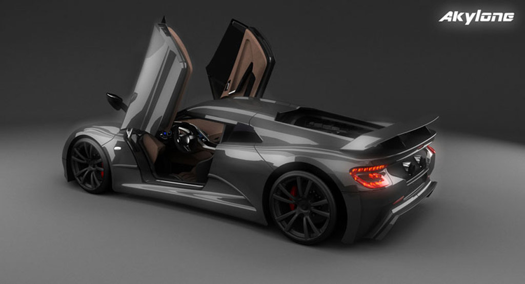 Build A Challenger >> Genty Updates Design And Specs For Akylone Supercar: Video