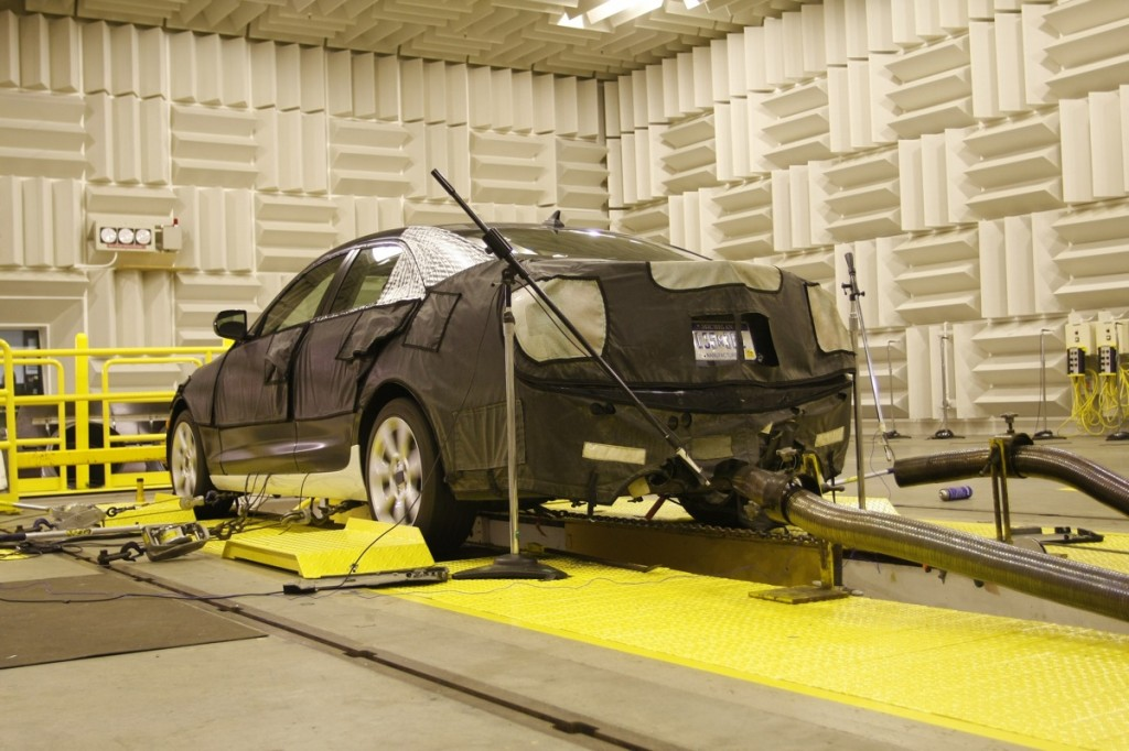 Used Subaru For Sale Near Me >> Image: GM tunes the Cadillac ATS' exhuast in an anechoic ...