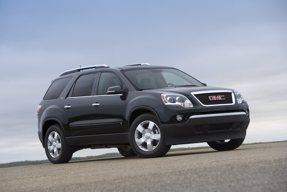 2009 gmc acadia pictures photos gallery motorauthority. Black Bedroom Furniture Sets. Home Design Ideas