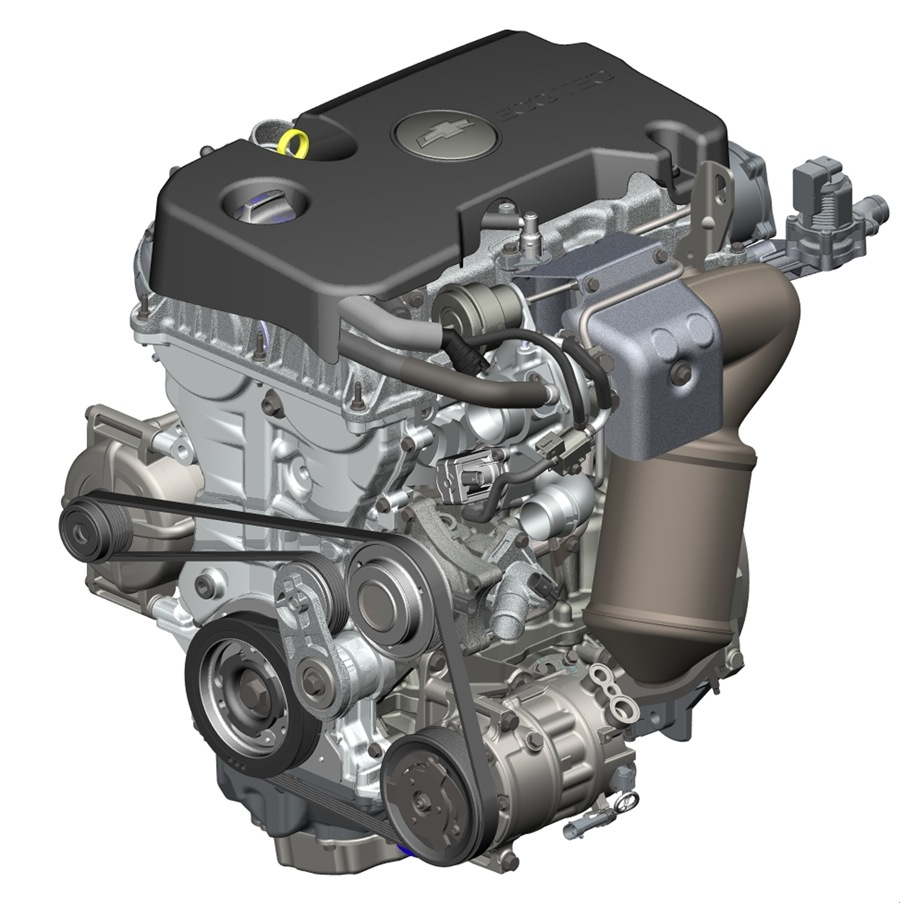 Image: GM's Newest Ecotec Small Engine Family. , Size: 900