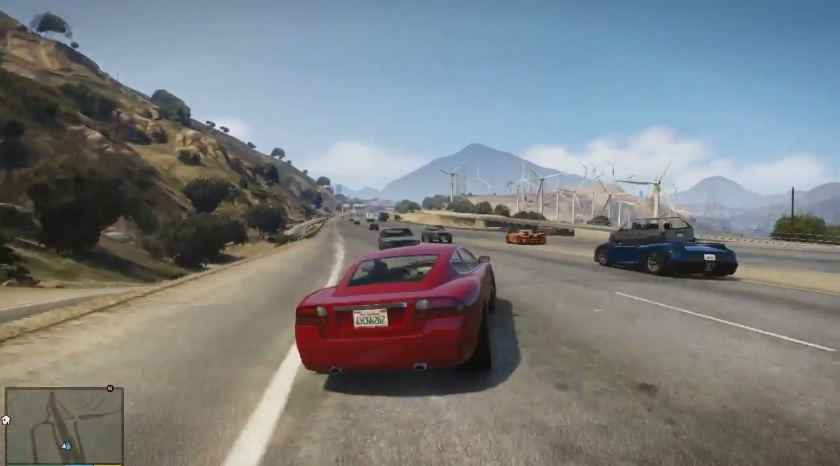 Grand theft auto v gameplay trailer video