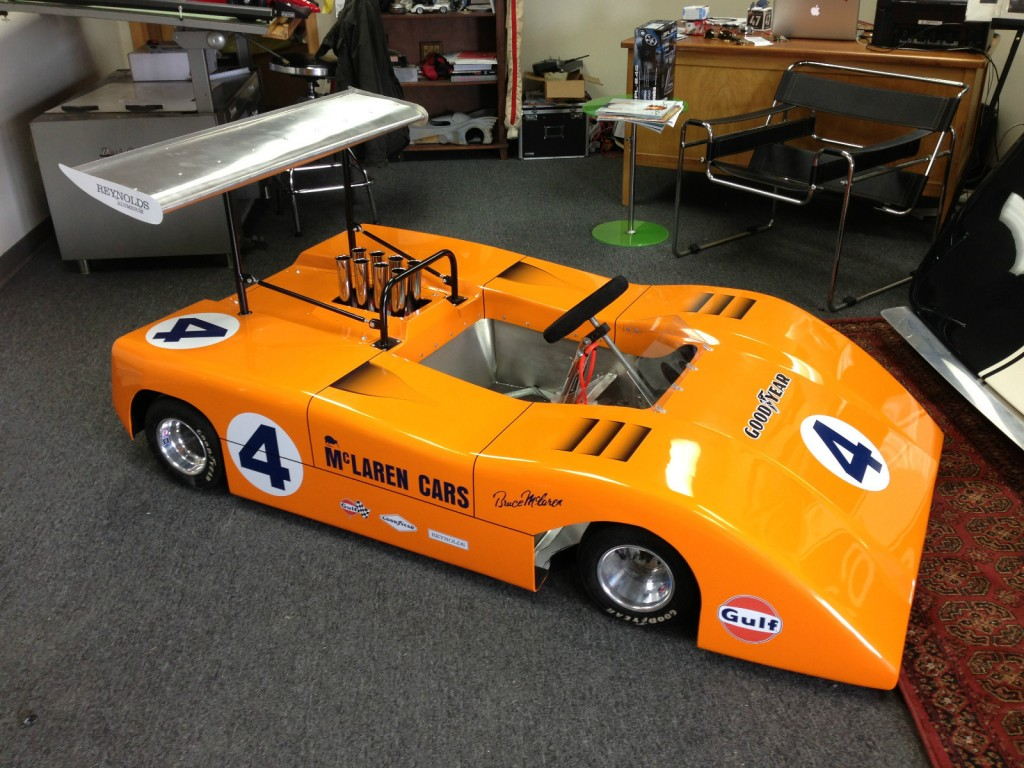 Half Scale Race Cars >> Image: Half-Scale McLaren M8B Can-Am car, size: 1024 x 768, type: gif, posted on: October 17 ...