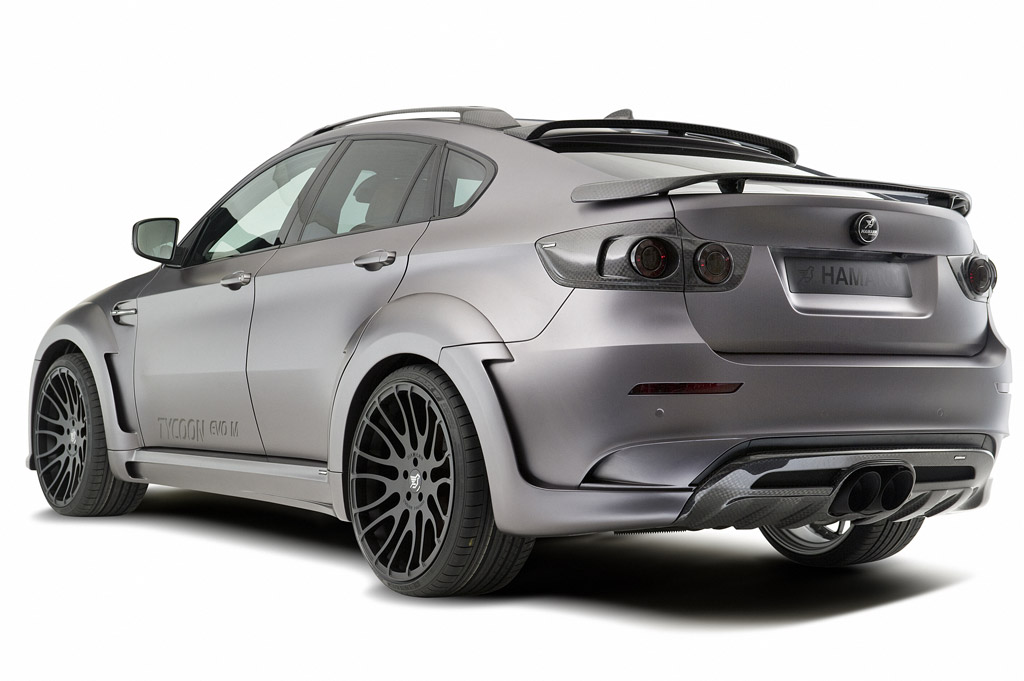 Hamann Releases New Bmw X6 Tycoon Evo M Package