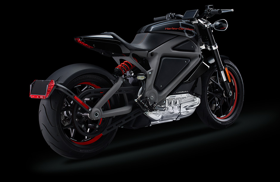 Harley Davidson Reveals Livewire Electric Motorcycle Video