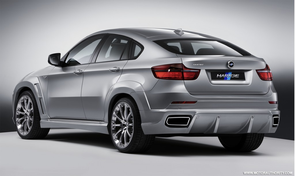 hartge adds more aggression to bmw s x6 with new styling pack. Black Bedroom Furniture Sets. Home Design Ideas