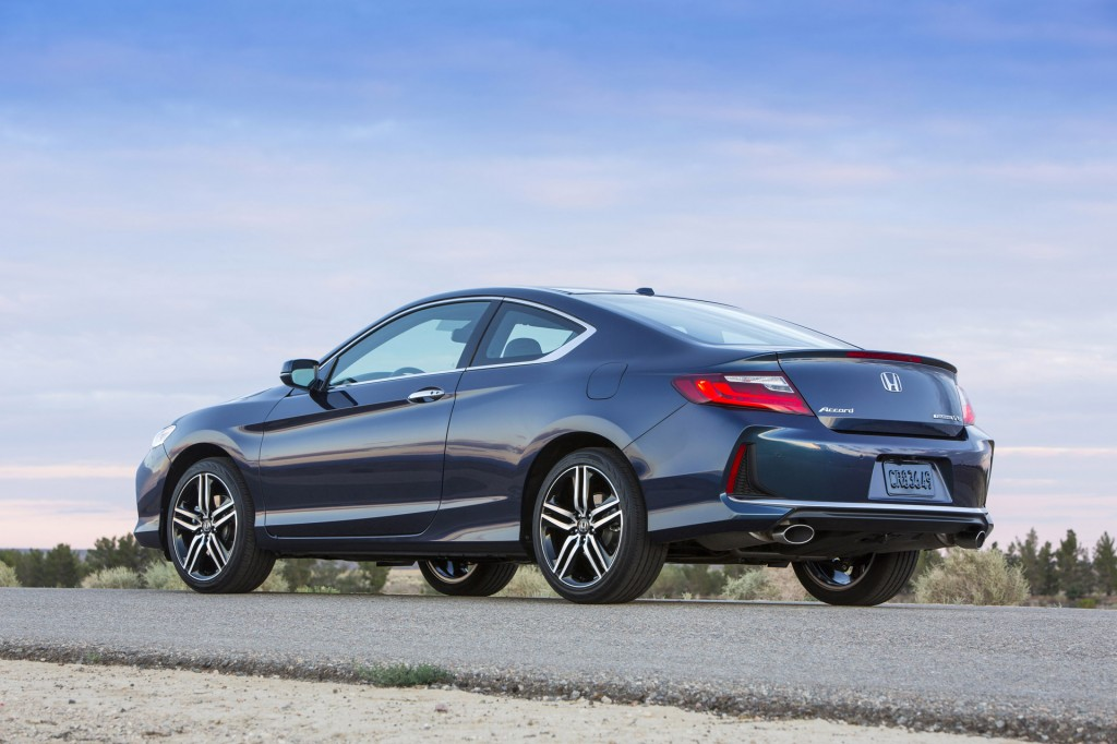 Updated 2016 Honda Accord Coupe Joins Sedan