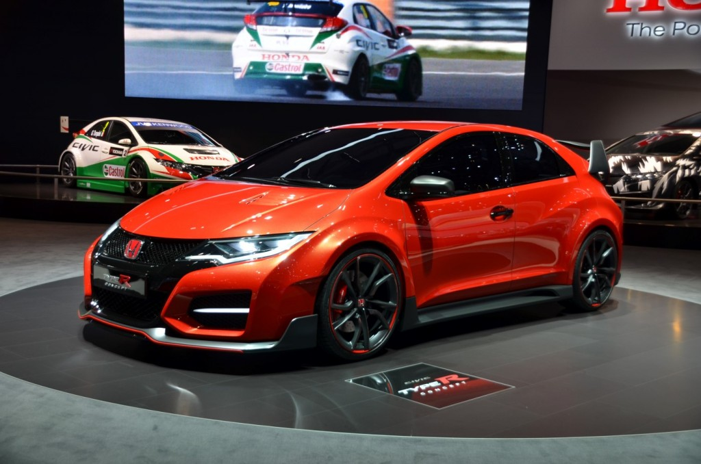 the new honda civic type r concept best performance cars 2014 best cars collections. Black Bedroom Furniture Sets. Home Design Ideas