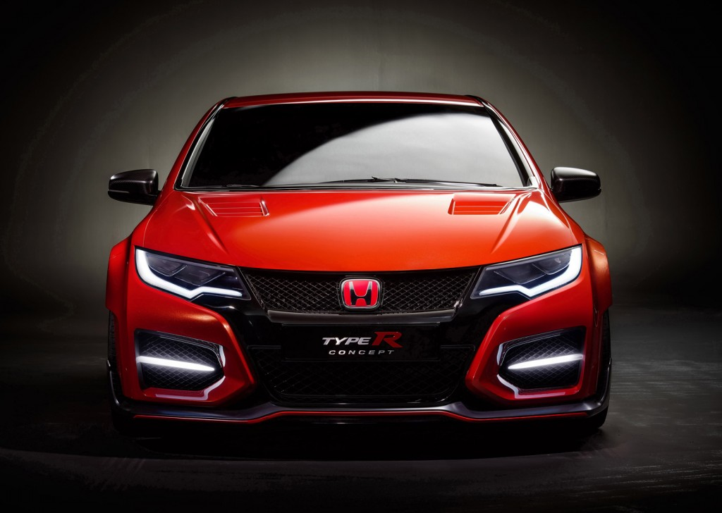 honda hopes to shed dreary image with new civic type r video. Black Bedroom Furniture Sets. Home Design Ideas