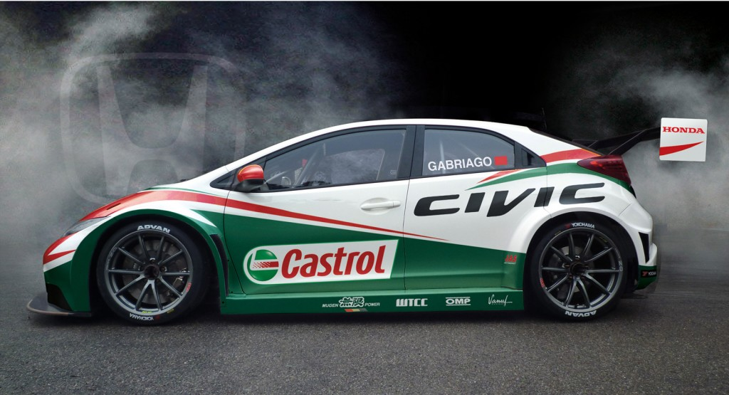 2013 honda civic wtcc race car. Black Bedroom Furniture Sets. Home Design Ideas