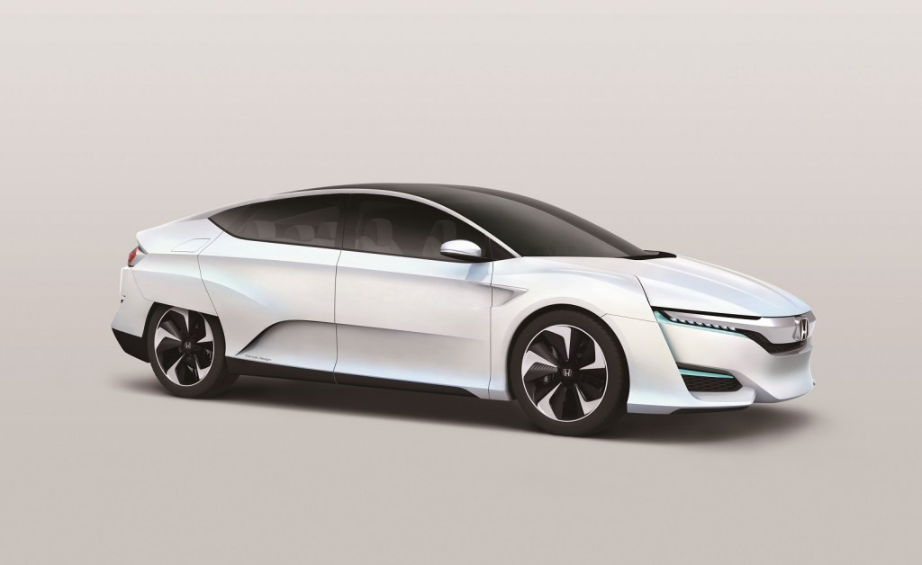 Honda concept previews new fuel cell vehicle coming in 2016 for Future honda cars