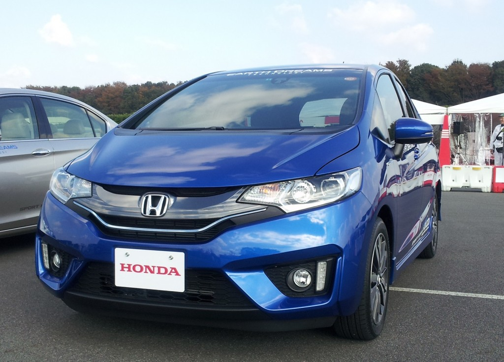 2015 honda fit hybrid forbidden fruit drive report for Honda hybrid cars