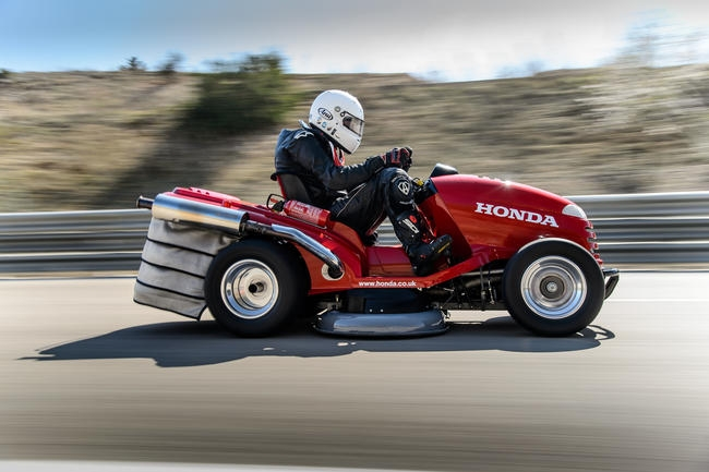 Honda S Mean Mower Is Officially The World S Fastest