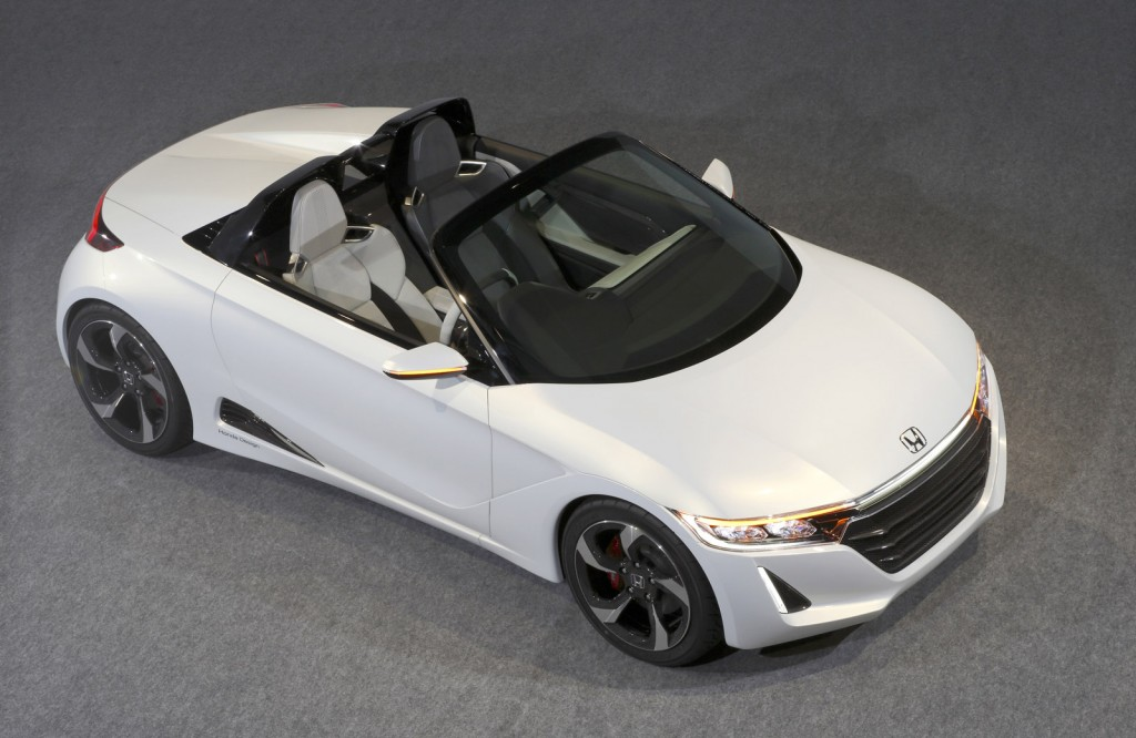 Mid Engine Honda S660 To Enter Production In 2015 Tiny