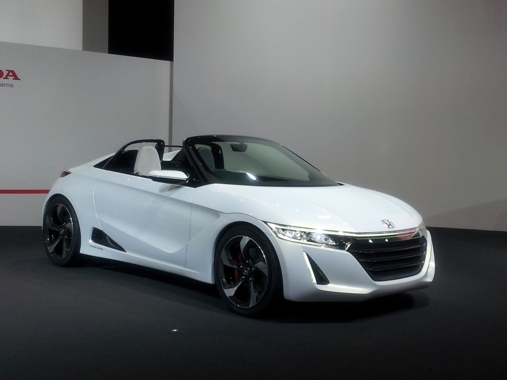 Mid-Engine Honda S660 To Enter Production In 2015: Tiny ...