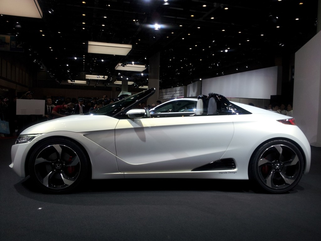 2013 Honda Civic Hybrid >> Mid-Engine Honda S660 To Enter Production In 2015: Tiny Forbidden Fruit
