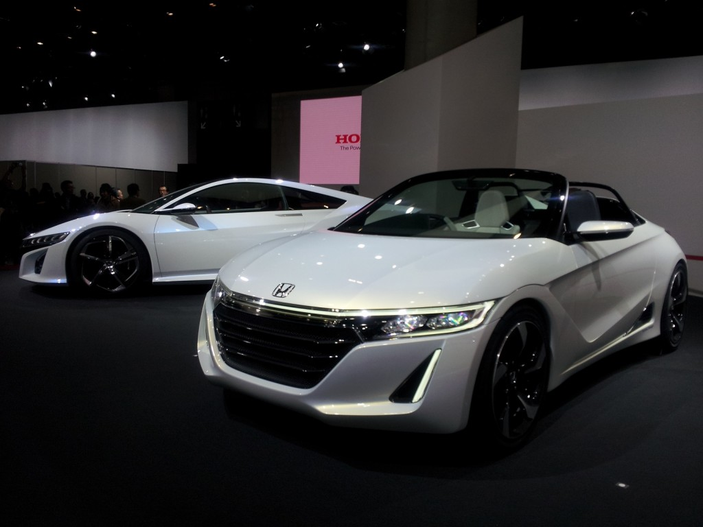 Honda S660 Mid-Engine Sports Car Concept Debuts In Tokyo
