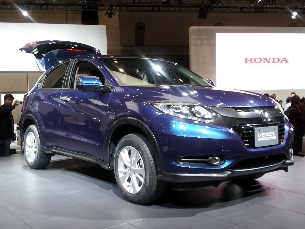 Honda vezel compact crossover tokyo motor show live photos for What does a motor vehicle report show