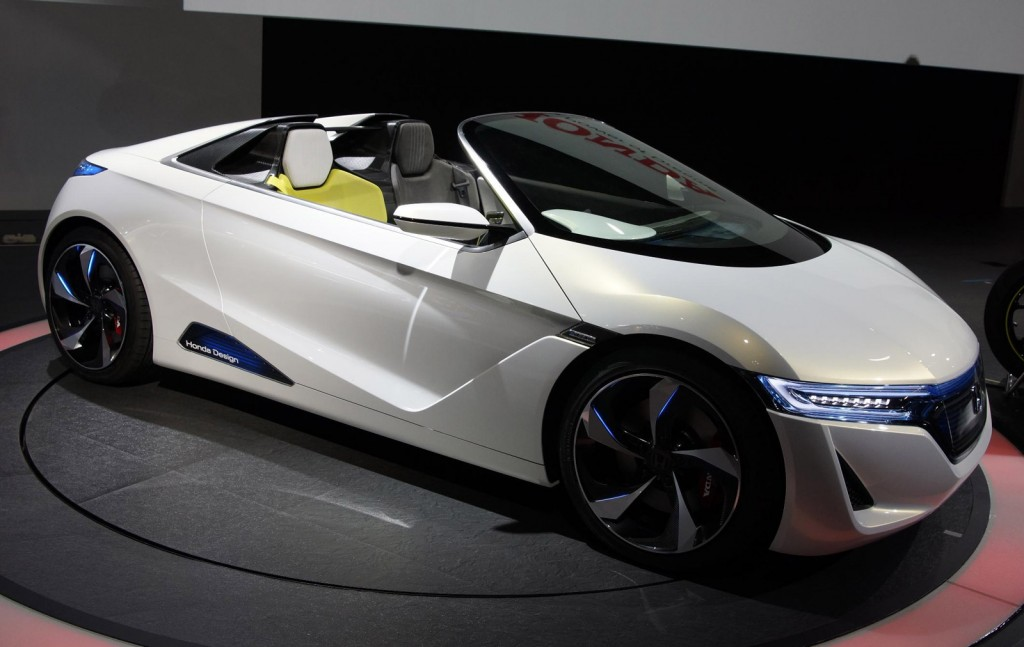 Attractive Honda EVSTER Electric Concept Car Could Make It To Production