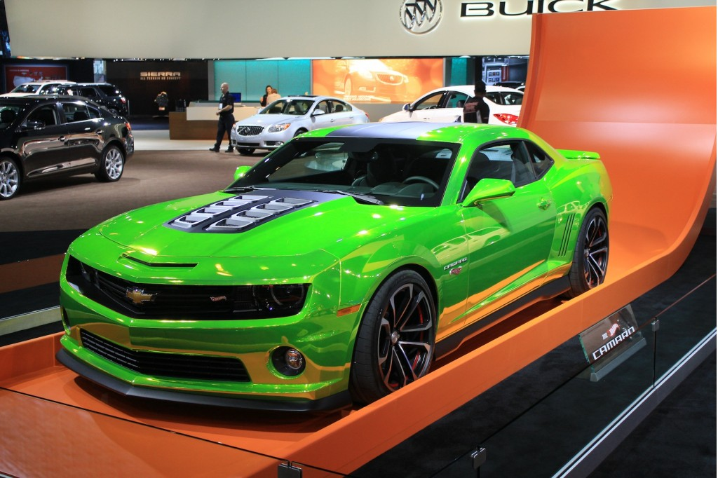 Chevrolet Camaro Hot Wheels Concept Live Photos: L.A. Auto ...