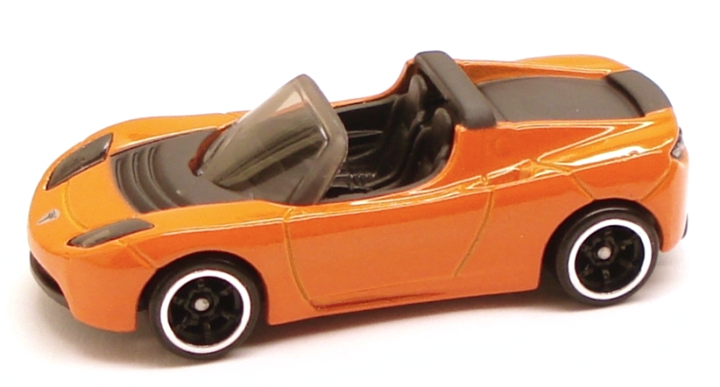 Hot Wheels Tesla Roadster. Image: hotwheels.wikia.com
