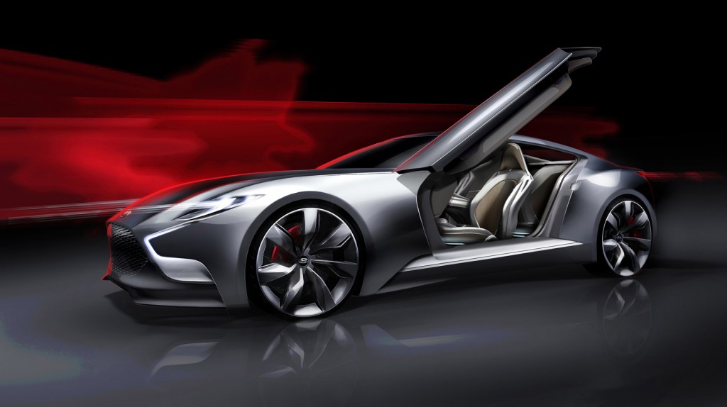 Next Gen Hyundai Genesis Coupe Previewed By HND 9 Concept