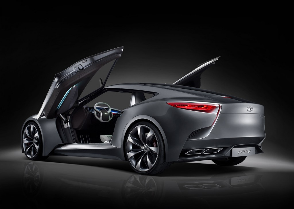 hyundai hnd 9 coupe concept debuts at 2013 seoul motor show. Black Bedroom Furniture Sets. Home Design Ideas