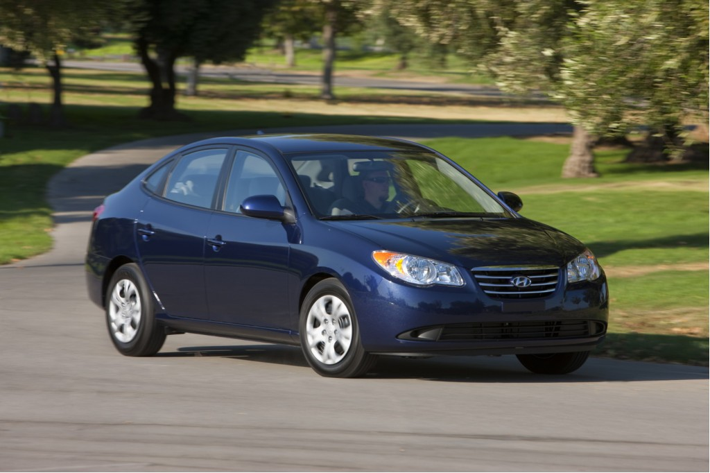 Driven 2010 Hyundai Elantra Blue