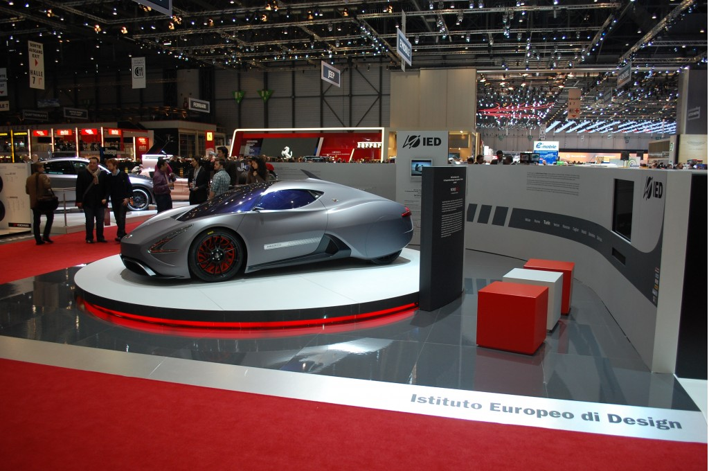 Abarth Scorpion The Electric Car With A Sting In Its Tail