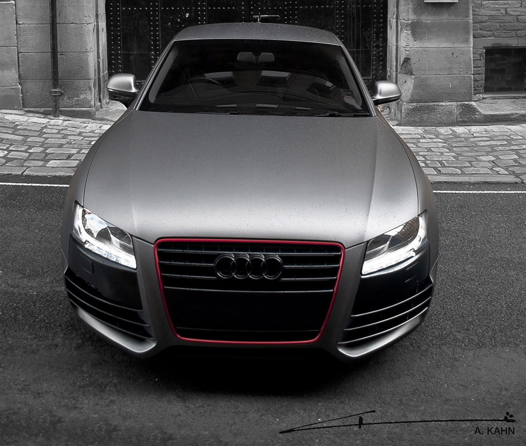 Project Kahn Unveils Bespoke Audi A5 With Luscious Matte ...