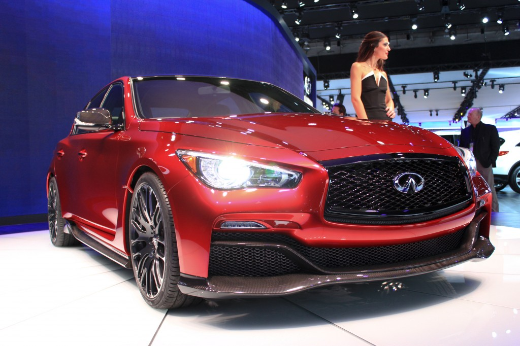 infiniti q50 eau rouge revealed f1 inspired over 500 hp possible. Black Bedroom Furniture Sets. Home Design Ideas
