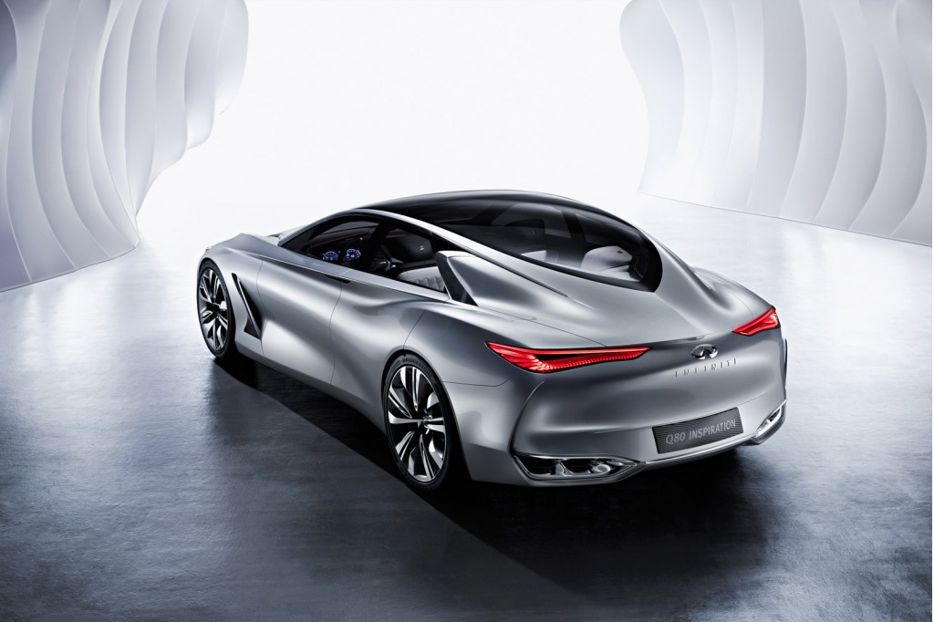infiniti q80 inspiration hybrid concept unveiled at paris motor show. Black Bedroom Furniture Sets. Home Design Ideas