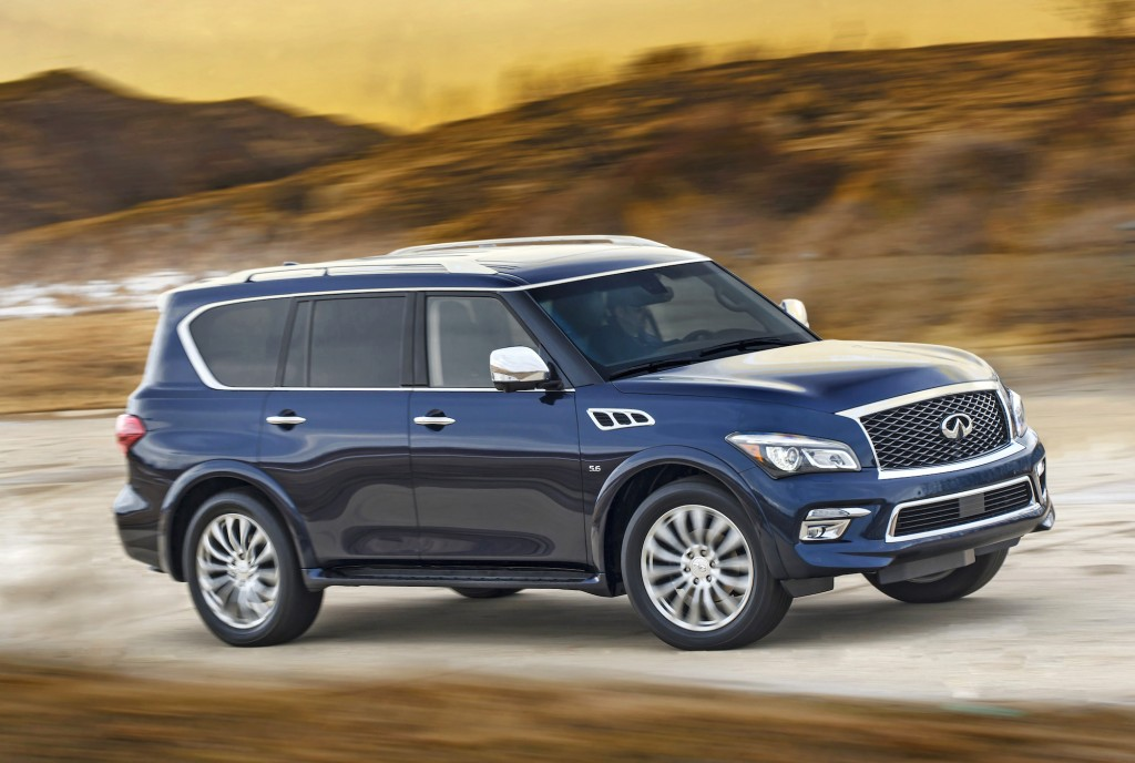6 Passenger Vehicles >> 2015 Infiniti QX80 Gets Styling Updates, New Limited Trim: 2014 New York Auto Show