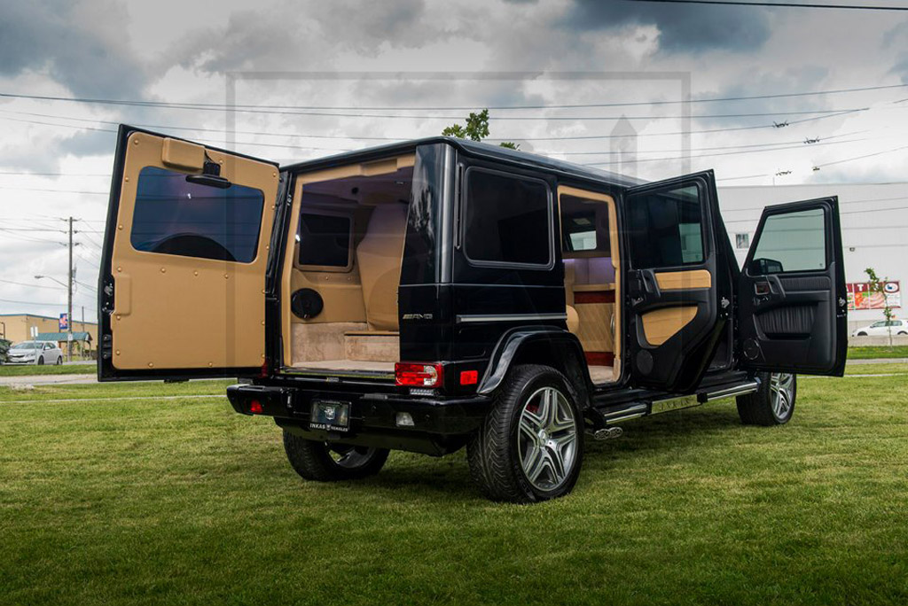 63 Power Wagon >> Canada's INKAS Can Build You An Armored G63 AMG Limo